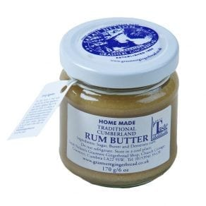 家庭自制传统坎伯兰朗糖黄油